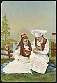 To kvinner i bunad - Two women in national costumes (35726984224).jpg