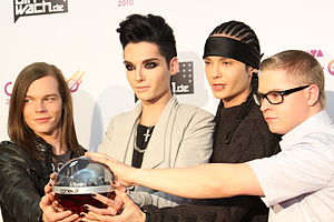 MTV Video Music Award for Best New Artist - 2008 award winner Tokio Hotel