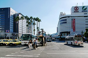 Tokushima, Tokushima - Image: Tokushima Station Bus Terminal