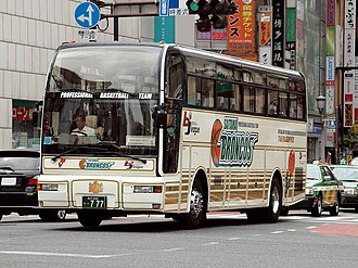 Saitama Broncos - Broncos bus