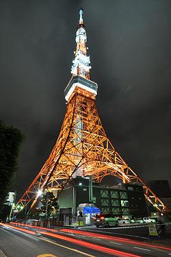A Construção da Torre de Tóquio foi inspirada na Torre Eiffel 250px-Tokyo_Tower_%288172202525%29