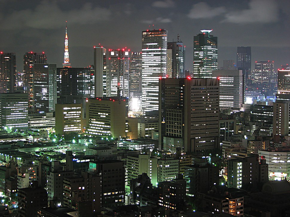 Tokyo night view 1