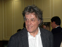 Stoppard in 2007 op de première van The Coast of Utopia in Rusland