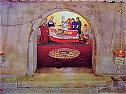 The tomb of Saint Nicholas in Bari, as it appears today.