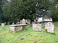 Tombs in the Churchyard - geograph.org.uk - 1171296.jpg
