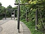 Torii of Tetsudo Shrine on top of Hakata Station 4.jpg