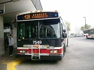 Orion VII (Toronto Transit Commission bus) - Image: Toronto Transit Commission 7549 a