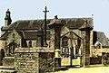 Trégrom. Eglise-Enclos-1970.jpg