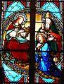 Trélissac église vitrail choeur N (2).JPG