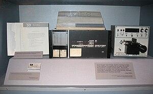 Traf-O-Data - Traf-O-Data 8008 computer with a tape reader