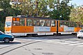 Tram in Sofia in front of Tram depot Banishora 003.jpg
