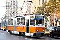 Tram in Sofia near Macedonia place 2012 PD 072.jpg