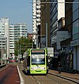 Tram in Wellesley Road, Croydon (geograph 2657925).jpg