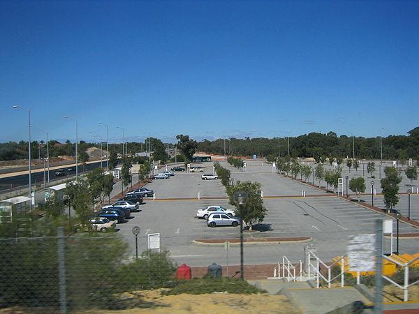 Murdoch Train Station Car Park