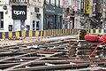 Travaux de la STIB le 21 juillet 2016 - Chaussée de Charleroi à Bruxelles 3.jpg