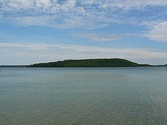 Treasure Island (Ontario) - Treasure Island from the south