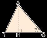 Triangolo con vertici, altezza e un angolo.png