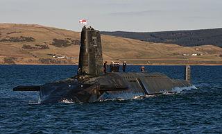 HMS <i>Victorious</i> (S29) Vanguard-class submarine