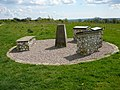 Trig point and viewpoint at White Horse Wood Country Park - geograph.org.uk - 1624648.jpg