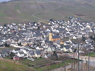 Trittenheim Place in Rhineland-Palatinate, Germany
