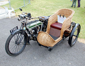 "Triumph Engineering - Model H, the ""Trusty Triumph"". 57,000 were made between 1915 and 1923"
