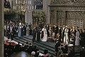 Troonswisseling 30 april inhuldiging in Nieuwe Kerk ruim overzichtliggend (, Bestanddeelnr 253-8199.jpg