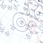Tropical Storm Jennifer-Katherine surface analysis September 17, 1963.png