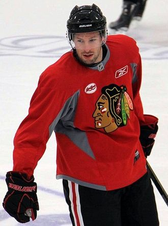 Troy Brouwer - Brouwer during his tenure with the Blackhawks