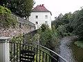 Trzebieszowice, zespół dworski, mur oporowy, 10.JPG
