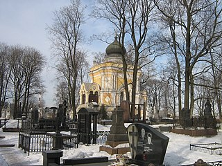 Nikolskoe Cemetery Cemetery in Saint Petersburg, Russia