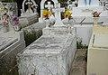 Tumba de Antonio Correa Cotto, Cementerio Civil de Ponce, Bo. Portugués Urbano. Ponce, PR, mirando al norte (DSC02807B).jpg