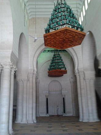 Great Mosque of Mahdiya - Central nave of the prayer hall