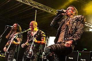 Turisas Finnish metal band