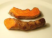 Turmeric root, wiki