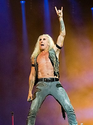 Dee Snider - Snider performing at Wacken Open Air 2016