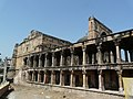 Two-floored exterior facade on the south, Jama Masjid, Jaunpur, Uttar Pradesh, India - 20090221.jpg