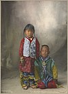 Two Young Warriors, Assiniboine.jpg