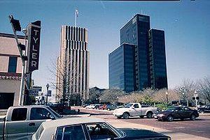 Tyler, Texas - Tyler skyline