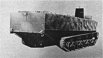 Type 4 Ka-Tsu - Rear-side angle view of Type 4 Ka-Tsu