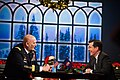 U.S. Army Chief of Staff Gen. Raymond T. Odierno is interviewed by Stephen Colbert at the Colbert Report show in New York City on December 14, 2011.jpg