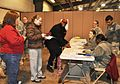 U.S. Soldiers assigned to the Installation Support Unit, Indiana Army National Guard assist in the registration, setup and hosting of the 2013 Operation Homefront toy drive at Camp Atterbury, Ind., Dec. 8 131208-Z-IB445-111.jpg