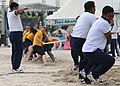 U.S. and Indonesian sailors play tug of war during a Sports Day event in support of Cooperation Afloat Readiness and Training (CARAT) 2013 in Jakarta, Indonesia, May 28, 2013 130528-N-YU572-144.jpg