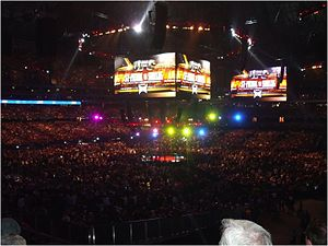 UFC 129 - A crowd of 55,000 filled Rogers Centre for UFC 129