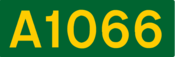 A1066 road shield