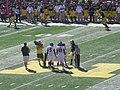 UMass vs. Michigan football 2012 01 (coin toss).jpg