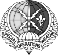 USAF Special Operations Weather Team Flash