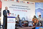 USAID Pakistan's Mission Director, Gregory Gottlieb addressing the participants at the event (16651789102).jpg