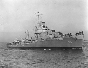 USS Barton (DD-599) - USS Barton (DD-599)