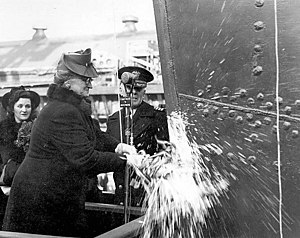 USS Sheehan (DE-541) launched