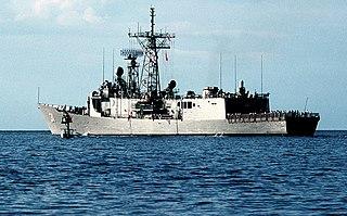 USS <i>Stark</i> (FFG-31) Oliver Hazard Perry-class frigate